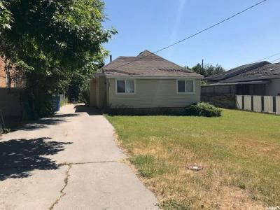 Logan Single Family Home For Sale: 334 W 400 N
