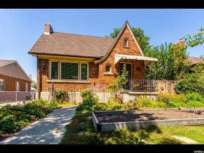 Salt Lake City Single Family Home For Sale: 1333 E Parkway Ave