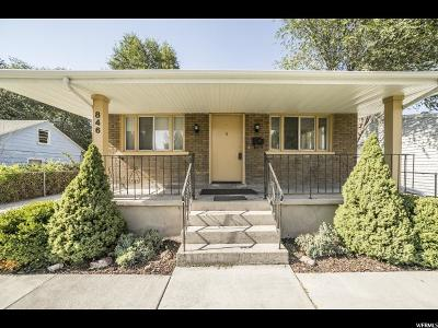 Provo Single Family Home For Sale: 846 W 300 N