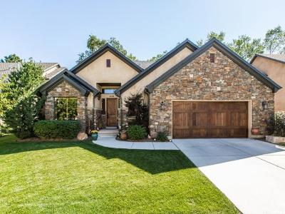 Cottonwood Heights UT Single Family Home For Sale: $819,000