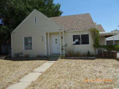 East Carbon UT Single Family Home For Sale: $50,000