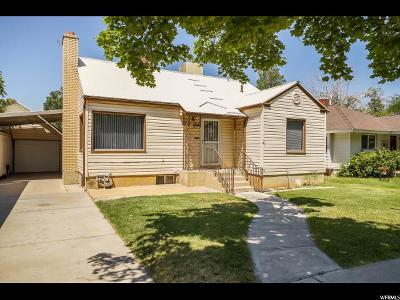 Brigham City Single Family Home For Sale: 168 S 300 E