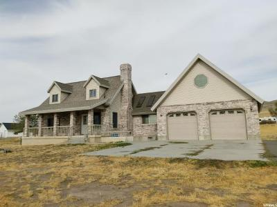 Tremonton Single Family Home Under Contract: 3625 W 1000 N