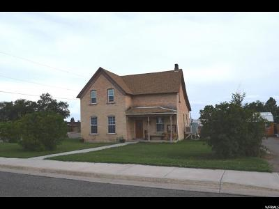 Castle Dale UT Single Family Home For Sale: $122,000
