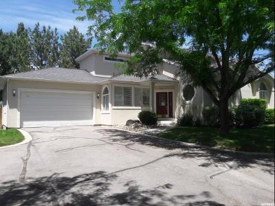 Holladay Single Family Home For Sale: 4217 S Lincoln Pines Ct