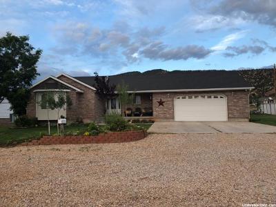 Single Family Home For Sale: 77 S 470 E
