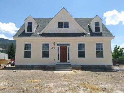 Single Family Home For Sale: 570 E 400 S