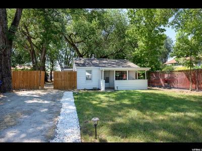 Single Family Home For Sale: 3192 S 400 E E