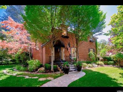 Salt Lake City Single Family Home For Sale: 1704 E Harvard Ave