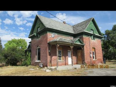 Preston Single Family Home For Sale: 314 W 100 N