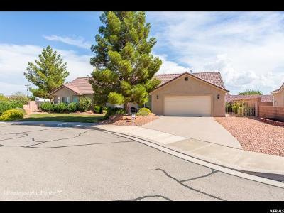 St. George Single Family Home For Sale: 2408 E 440 N Cir N