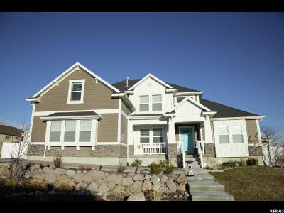 Lehi Single Family Home For Sale: 3274 N 1090 W