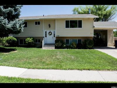 American Fork Single Family Home For Sale: 736 N 390 E