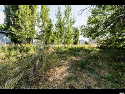 Logan Residential Lots & Land For Sale: 889 W 600 S
