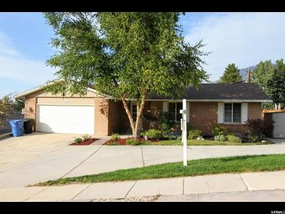 Cottonwood Heights Single Family Home For Sale: 7515 S Mitt Ln