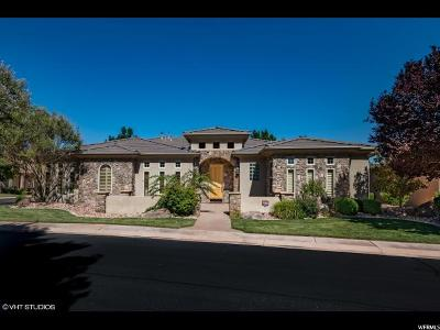 St. George Single Family Home For Sale: 162 N Monterey Drive