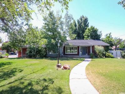 Holladay Single Family Home For Sale: 4000 S 2000 E