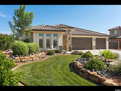 St. George Single Family Home For Sale: 2973 E 1880 S Cir