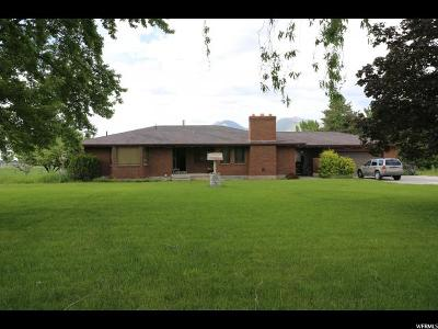 Mapleton Single Family Home For Sale: 1320 W 2400 S