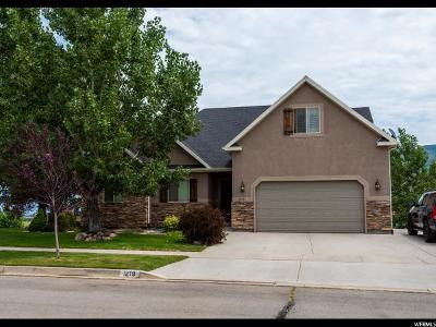 Santaquin Single Family Home For Sale: 1279 Cedar Pass Dr N