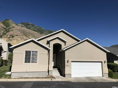 Provo Single Family Home For Sale: 1231 S 1440 E