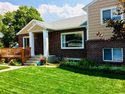 Salt Lake City Single Family Home For Sale: 2754 E 2850 S