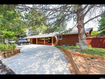 Holladay Single Family Home For Sale: 4385 S Holladay Blvd