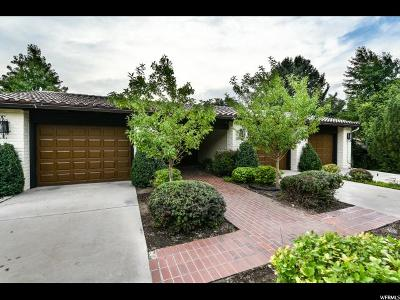Salt Lake City Single Family Home For Sale: 1180 S Oak Hills Way E