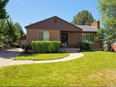 Salt Lake City Single Family Home For Sale: 2516 E 1700 S