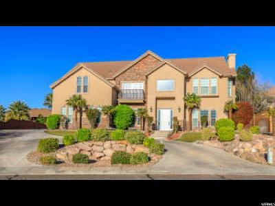 St. George Single Family Home For Sale: 896 Five Sisters Dr