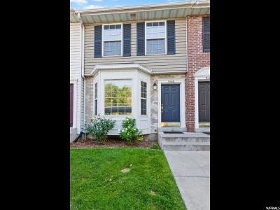 Provo Townhouse For Sale: 966 Eastgate Dr