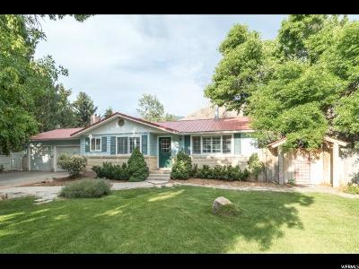 Nibley Single Family Home For Sale: 4628 Hollow Rd