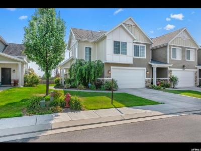 Riverton Townhouse For Sale: 11673 S Lunford Ln