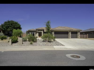 St. George Single Family Home For Sale: 1240 W Province Way