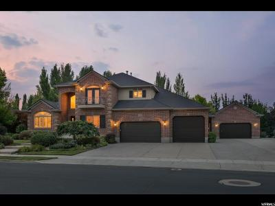 South Jordan Single Family Home For Sale: 3302 W Jordan Knoll Cir S