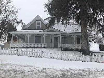 Preston Single Family Home For Sale: 1358 S 1600 E