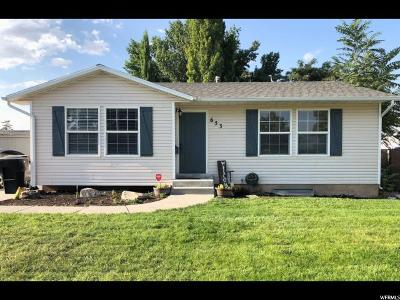 Tremonton Single Family Home For Sale: 653 W 700 S
