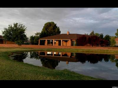 St. George Single Family Home For Sale: 3245 Chapparal Dr
