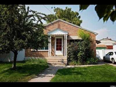 Logan Single Family Home For Sale: 87 E 300 S
