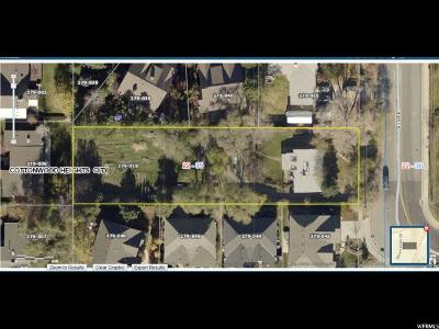 Cottonwood Heights Residential Lots & Land For Sale: 8140 S 3500 E