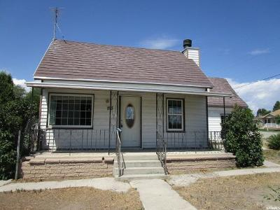 Wellington UT Single Family Home For Sale: $63,600