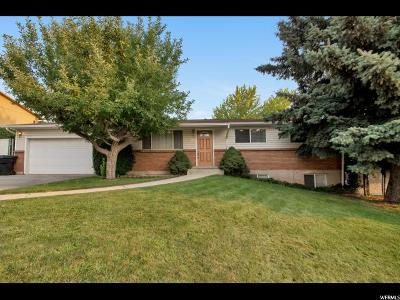 Orem Single Family Home For Sale: 1051 W 150 N