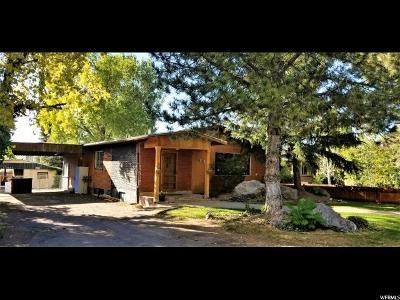 Single Family Home For Sale: 850 S 240 E
