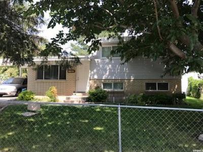 West Jordan UT Single Family Home For Sale: $260,000