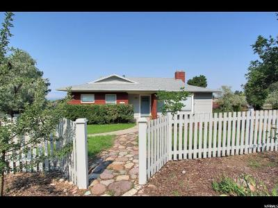 Holladay Single Family Home For Sale: 4454 S Aspen Hollow E