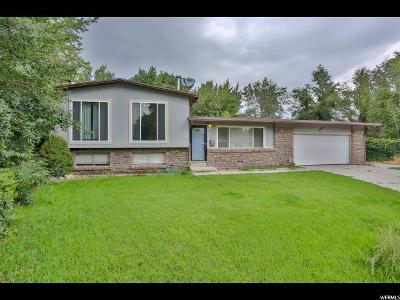 Sandy Single Family Home For Sale: 8494 S 400 E