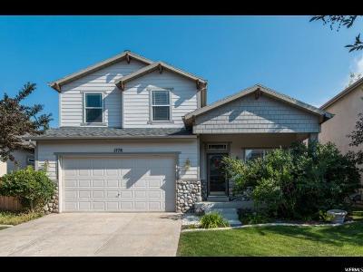 Draper Single Family Home For Sale: 1778 E Auburn Ridge Ln S