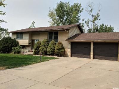 Brigham City Single Family Home For Sale: 948 Fishburn Dr