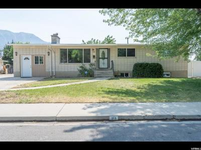 Orem Single Family Home For Sale: 213 S Ellis Dr