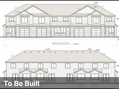 Tooele Townhouse For Sale: 1867 N 350 E #TBD